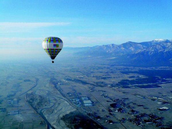 安曇野气船 熱気球