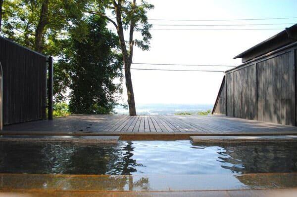 岩手 一関市 山桜 桃の湯 天空露天風呂