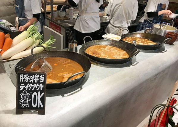 大阪 泉の広場 野菜を食べるごちそうとん汁 ごちとん ホワイティうめだ店