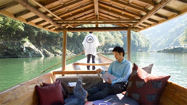 ヒルナンデス 京都 旅行 観光 女子旅 絶景 星のや京都 嵐山