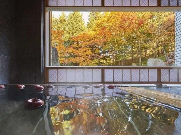 星野リゾート 界 津軽 りんご風呂