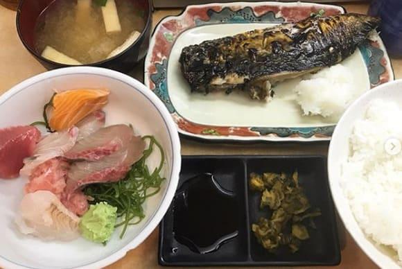 シューイチ 東京 新橋駅前ビル 雑居ビル カオスグルメ さかな亭 魚定食