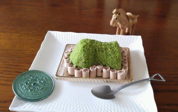 所さんお届けモノです ガイドブックにのってない奈良 古墳ケーキ