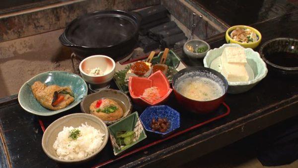 熊本 阿蘇郡 とうふ吉祥 とうふ定食