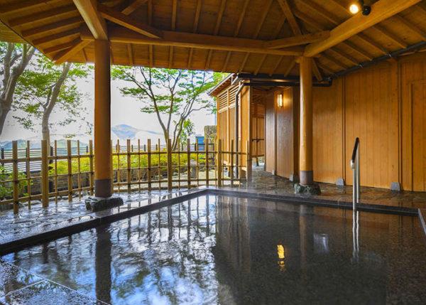 ホテルアルティア鳥羽 露天風呂 温泉