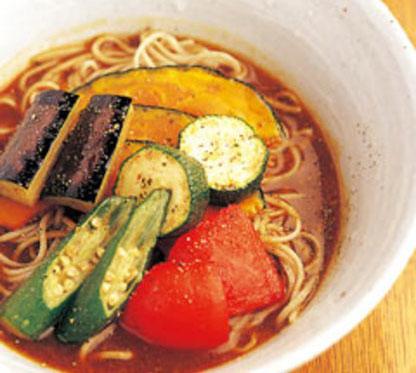マツコの知らない世界 蕎麦の世界 大阪 そば處 とき 冷やしカレーそば