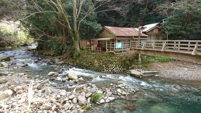 大澤温泉 野天風呂 山の家 外観