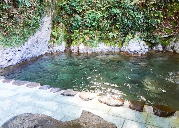 大澤温泉 野天風呂 山の家 露天風呂 源泉かけ流し