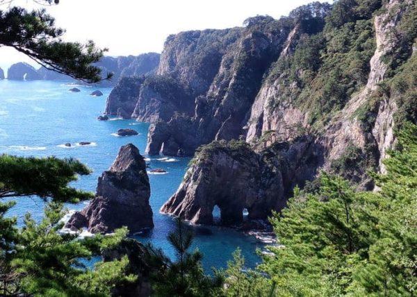 三陸復興国立公園 北山崎展望台