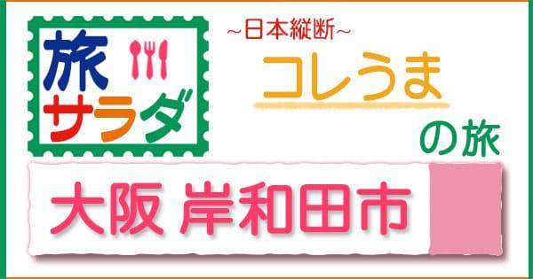 旅サラダ コレうま 大阪 岸和田