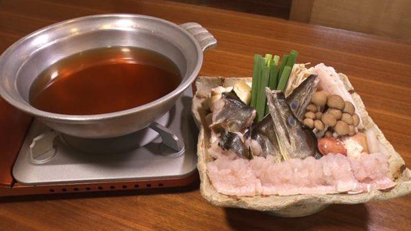 旅サラダ コレうま 淡路島 心鮮料理 万代 鱧すき鍋