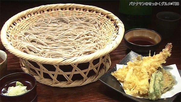 バナナマンのせっかくグルメ 長野県 松本市 みよ田 蕎麦