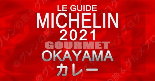 ミシュランガイド 岡山 2021 カレー