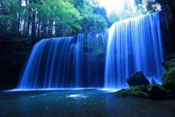 熊本 小国町 鍋ケ滝