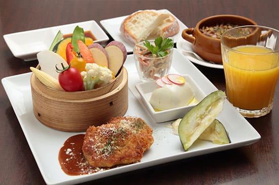 おでかけコンシェルジュ かんさい情報ネットten 大阪 箕面 セイロ蒸し 旬の野菜 イタリアン