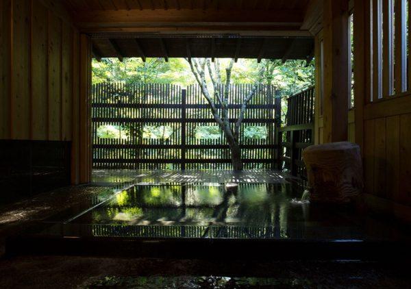 熊本 黒川温泉 旅館 奥の湯 一戸建て 離れ 竹林別館 お風呂