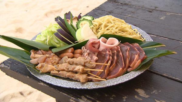 沖縄マリンスタジオ ビーチバーベキュー BBQ