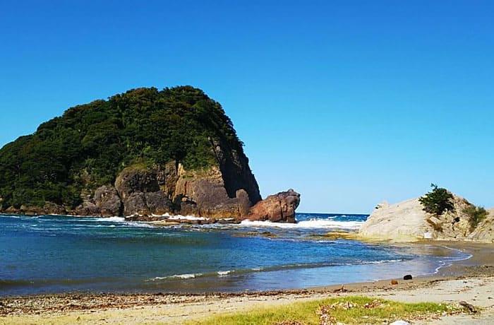 香美町香住 かえる島