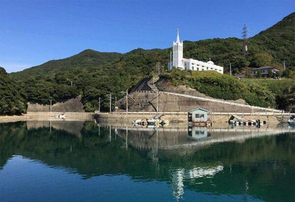 五島列島 中通島 桐教会