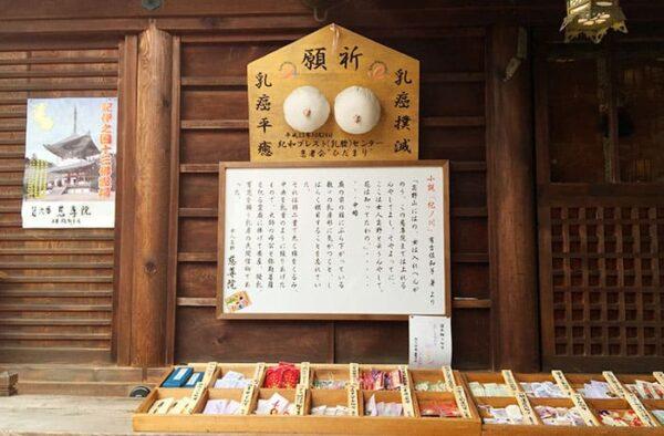 和歌山 九度山 慈尊院 乳房型絵馬