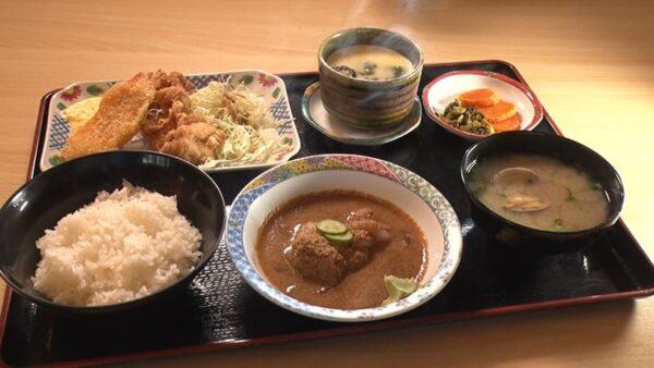 旅サラダ コレうま 福岡 宗像 道の駅むなかた おふくろ食堂 はまゆう