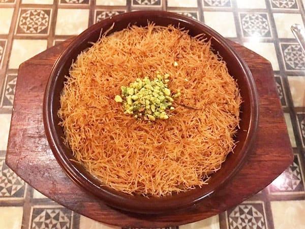 シューイチ 世界のミリ知ら飯 第3弾 激うま スイーツ アラビアレストラン ゼノビア クナーファ