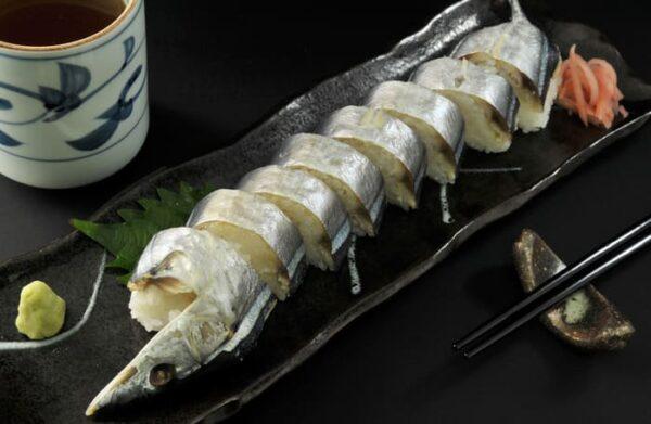 和歌山 新宮 さんま姿寿し 徐福寿司
