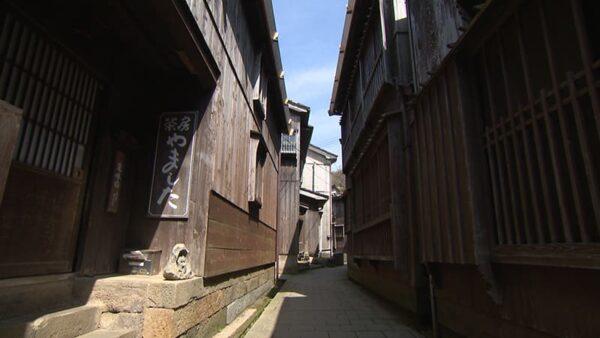 新潟 佐渡 宿根木伝統的建造物群保存地区