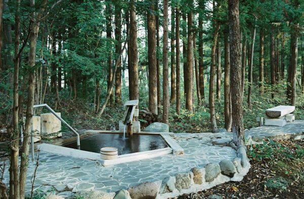 宮城 遠刈田温泉 温泉山荘 だいこんの花 貸切露天風呂