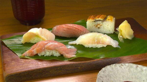 奄美大島 MIRU Amami 握り寿司 ハージン